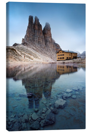 Canvas print  Vajolet towers in the Dolomites - Matteo Colombo