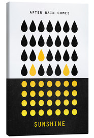 Canvas print  After rain comes sunshine - Elisabeth Fredriksson