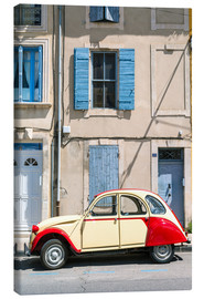 Canvas print  Citroen 2CV car, France - Matteo Colombo