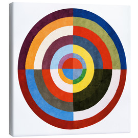 Canvas print  First Disk - Robert Delaunay
