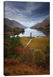 Canvas print  Glenfinnan Monument - Scotland - Martina Cross