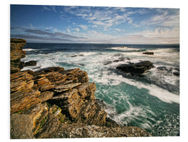 Foam board print  Northcoast Scotland - Caithness - Martina Cross