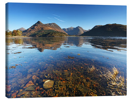 Canvas print  Glencoe - Scotland - Loch Leven - Martina Cross