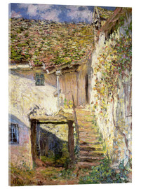 Acrylic print  The staircase - Claude Monet
