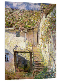 Foam board print  The staircase - Claude Monet
