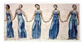Premium poster  A view into infinity - Ferdinand Hodler