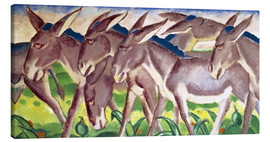 Canvas print  Donkey Fries - Franz Marc
