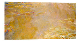 Acrylic print  lily pond - Claude Monet