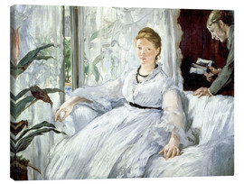 Canvas print  Madame Manet and her son Léon - Edouard Manet