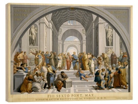 Wood print  School of Athens (after Raphael) to 1771-79 - Giovanni Volpato