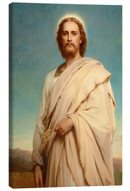 Canvas print  Christ in the cornfield - Thomas-Francis Dicksee