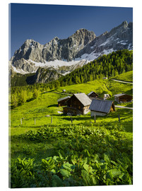 Acrylic print  Alpine Dream - Rainer Mirau