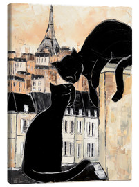 Canvas  Cats whispers - JIEL