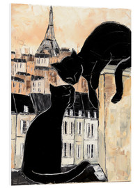 Foam board print  Cats whispers - JIEL