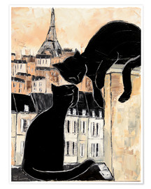 Premium poster  Cats whispers - JIEL