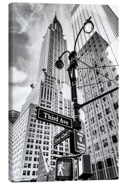 Canvas  Chrysler Building, New York City (monochrome) - Sascha Kilmer