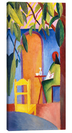 Canvas print  Turkish Café II - August Macke