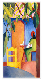 Premium poster  Turkish Café II - August Macke