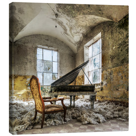 Canvas print  The old piano - Mario Benz