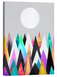 Canvas print  Colorful Peaks 2 - Elisabeth Fredriksson