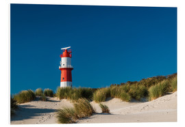 Foam board print  Borkum Lighthouse - Fleischipixel
