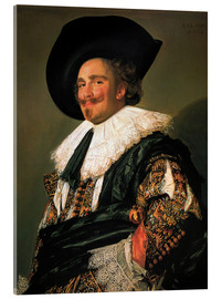 Acrylic print  The Laughing Cavalier - Frans Hals