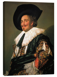 Canvas print  The Laughing Cavalier - Frans Hals