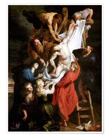 Premium poster  Descent from the Cross - Peter Paul Rubens