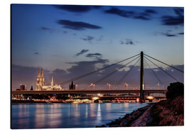 Aluminium print  Daybreak in Cologne - Tanja Arnold Photography
