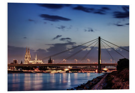 Foam board print  Daybreak in Cologne - Tanja Arnold Photography