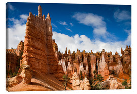 Canvas print  Queen's garden trail at Bryce Canyon - Circumnavigation