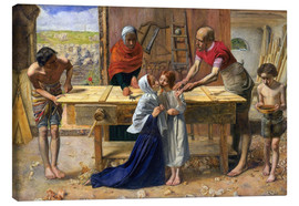 Canvas  Christ in the House of His Parents  - Sir John Everett Millais