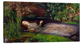 Canvas print  Ophelia - Sir John Everett Millais