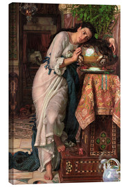 Canvas print  Isabella and the pot of Basil - William Holman Hunt