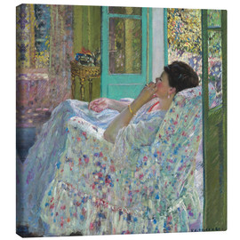 Canvas  Afternoon, Yellow Room - Frederick Carl Frieseke