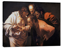 Canvas  The Doubting Thomas - Michelangelo Merisi (Caravaggio)