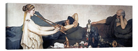 Canvas print  The Siesta - Lawrence Alma-Tadema
