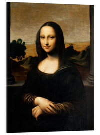 Acrylic print  The Isleworth Mona Lisa - Leonardo da Vinci