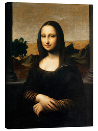 Canvas print  The Isleworth Mona Lisa - Leonardo da Vinci