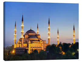 Circumnavigation - Blue Mosque at twilight