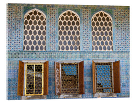Acrylic glass  Islamic windows of the Topkapi palace - Circumnavigation