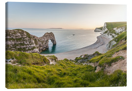 Canvas print  Durdle Door at the Jurassic Coast (England) - Christian Müringer