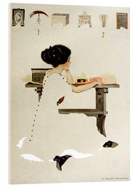 Acrylic print  Know all men by these presents - Clarence Coles Phillips