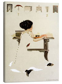 Canvas print  Know all men by these presents - Clarence Coles Phillips