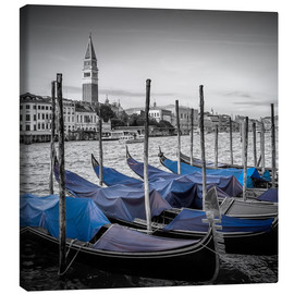 Canvas  VENICE Heavenly Urban Lagoon - Melanie Viola