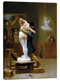 Canvas print  Pygmalion and Galatea - Jean Leon Gerome