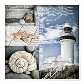 Premium poster  Byron Bay Lighthouse - Andrea Haase