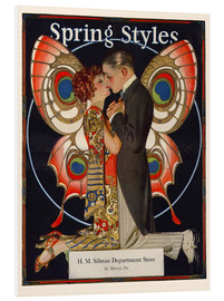 Foam board print  Spring fashion 1924 - Joseph Christian Leyendecker