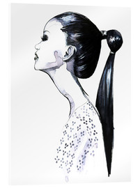 Acrylic glass  Ponytail - Rongrong DeVoe