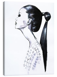Canvas  Ponytail - Rongrong DeVoe